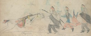 Cheyenne-Osage battle